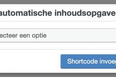 configureren-automatische-inhoudsopgave-shortcode
